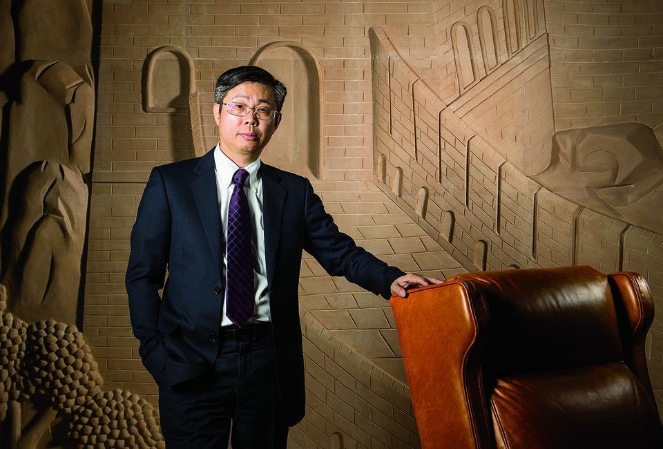Wong Man Li of furniture maker Man Wah Holdings