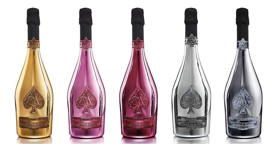 Ace of Spades bottles