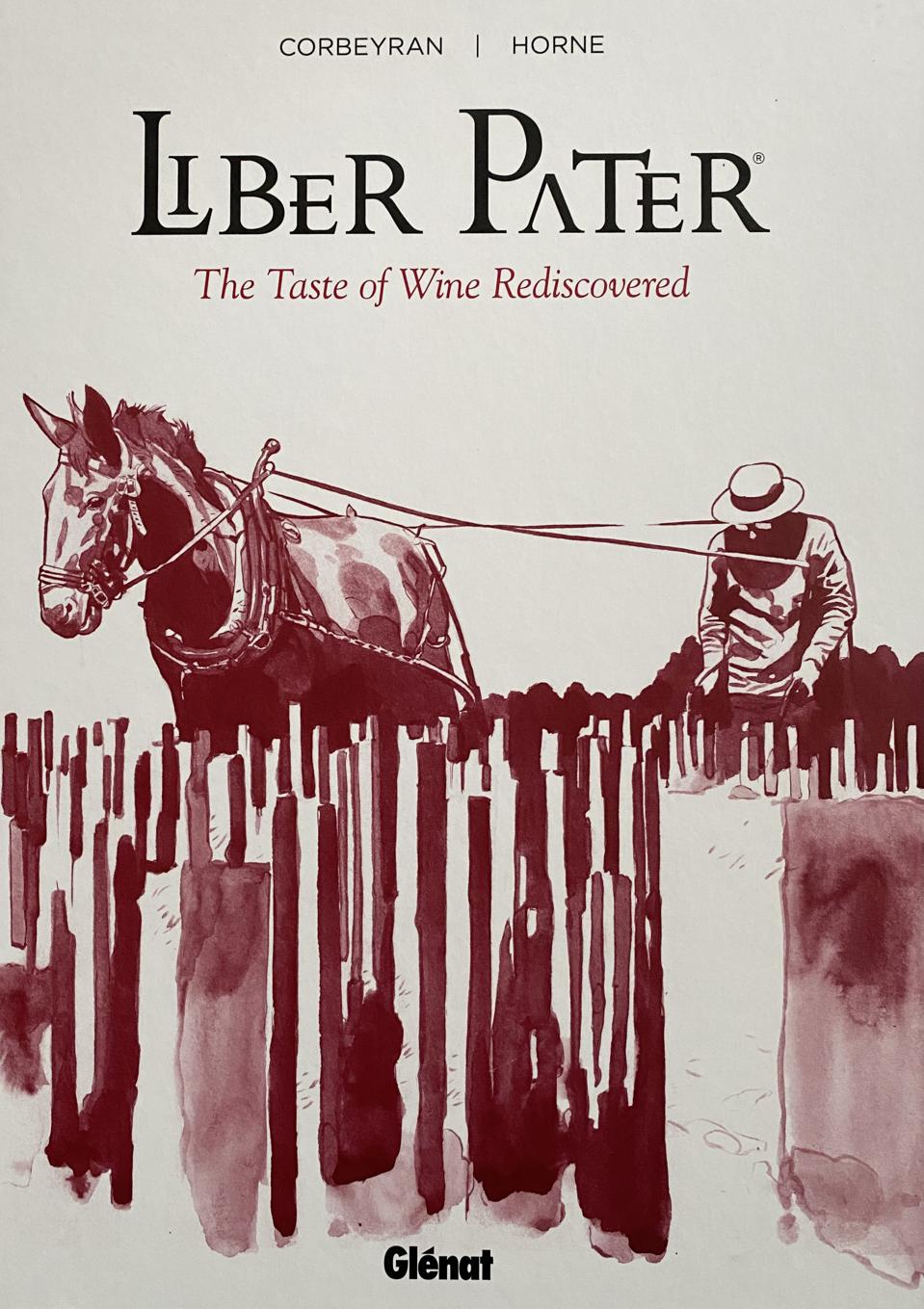 Cover of book showing horse and plowman