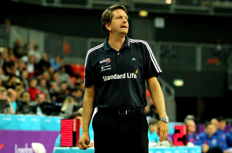 Toronto Raptors assistant coach Chris Finch.