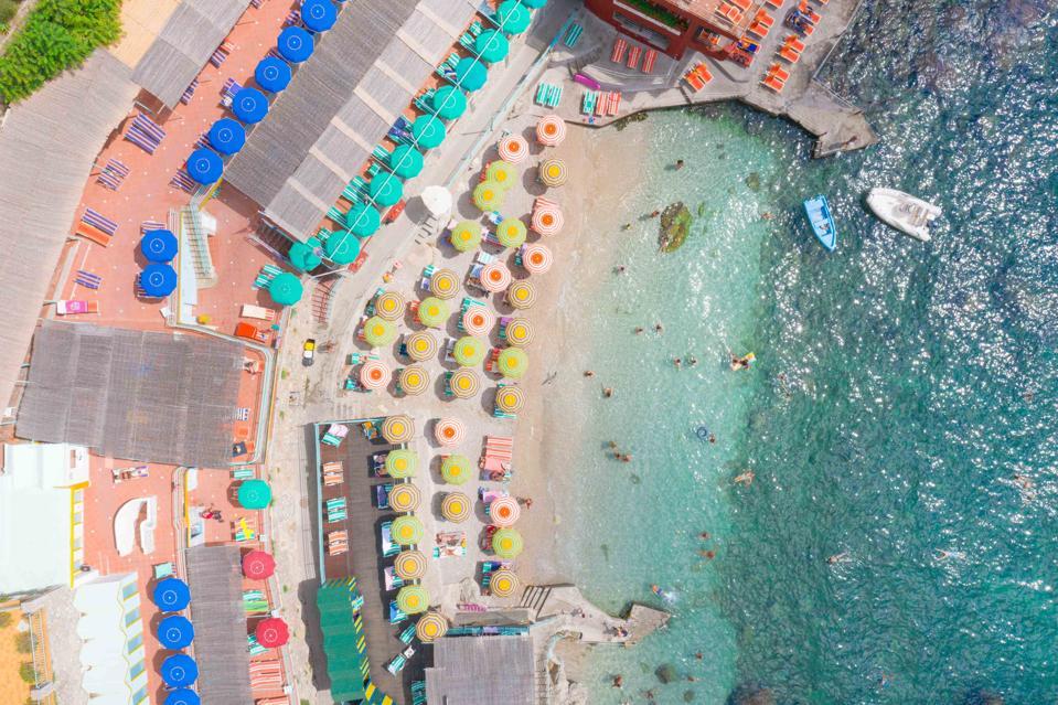 Colorful view of Capri