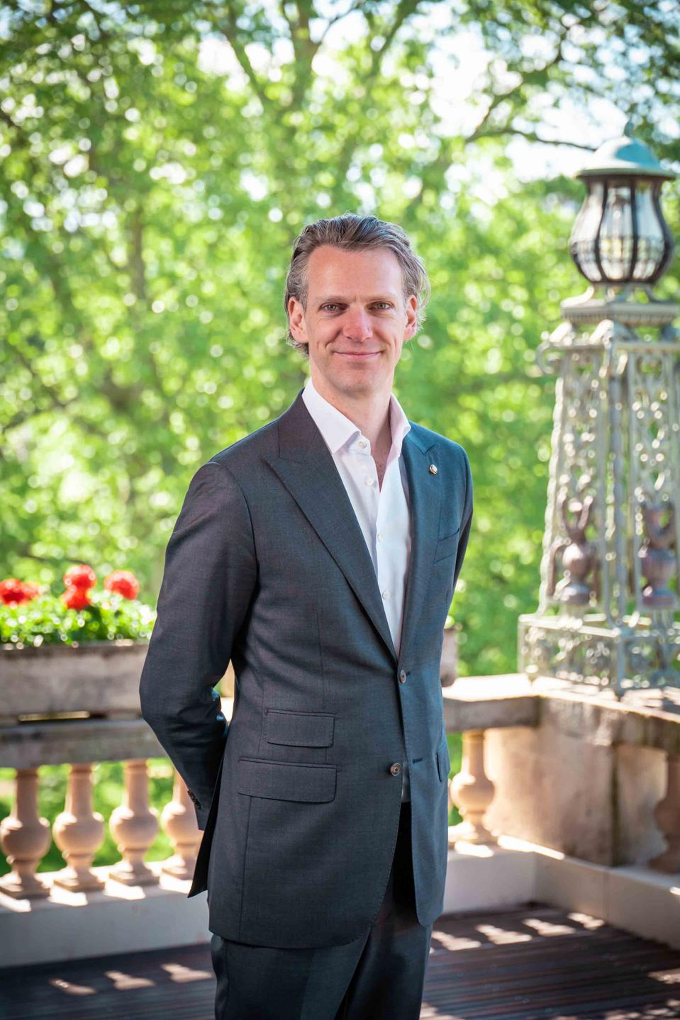 Dr. Timo Gruenert, Chief Executive Officer of Oetker Collection