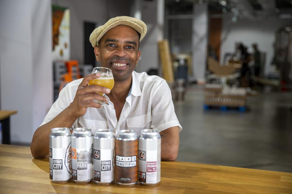 Roger Apollon Jr., the owner of Four City Brewing Company in Orange. New Jersey, says″ craft beer is all about every brewer bringing something different to the table.″