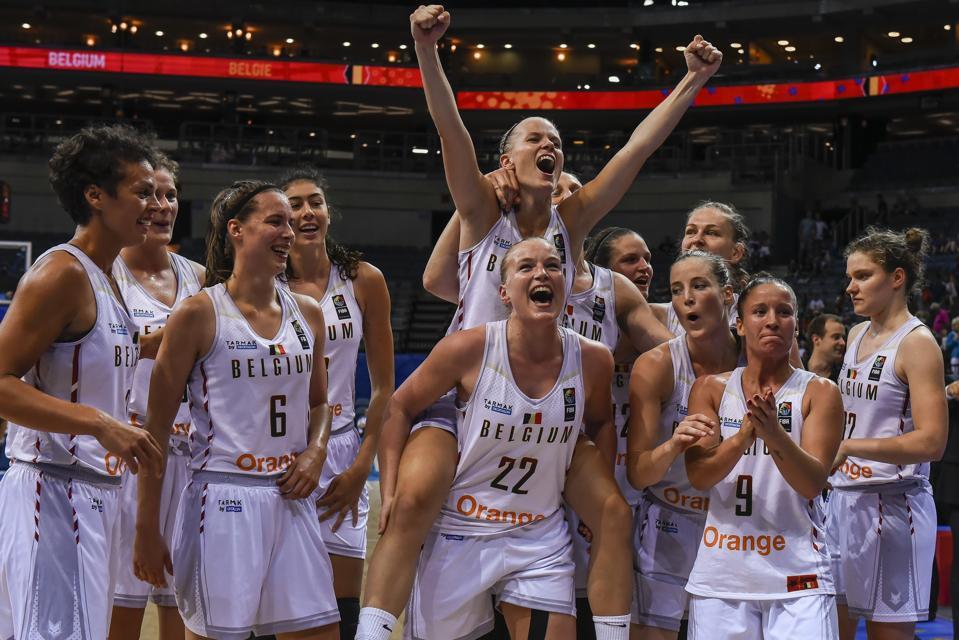 Greece vs Belgium : 2017 FIBA EuroBasket Women