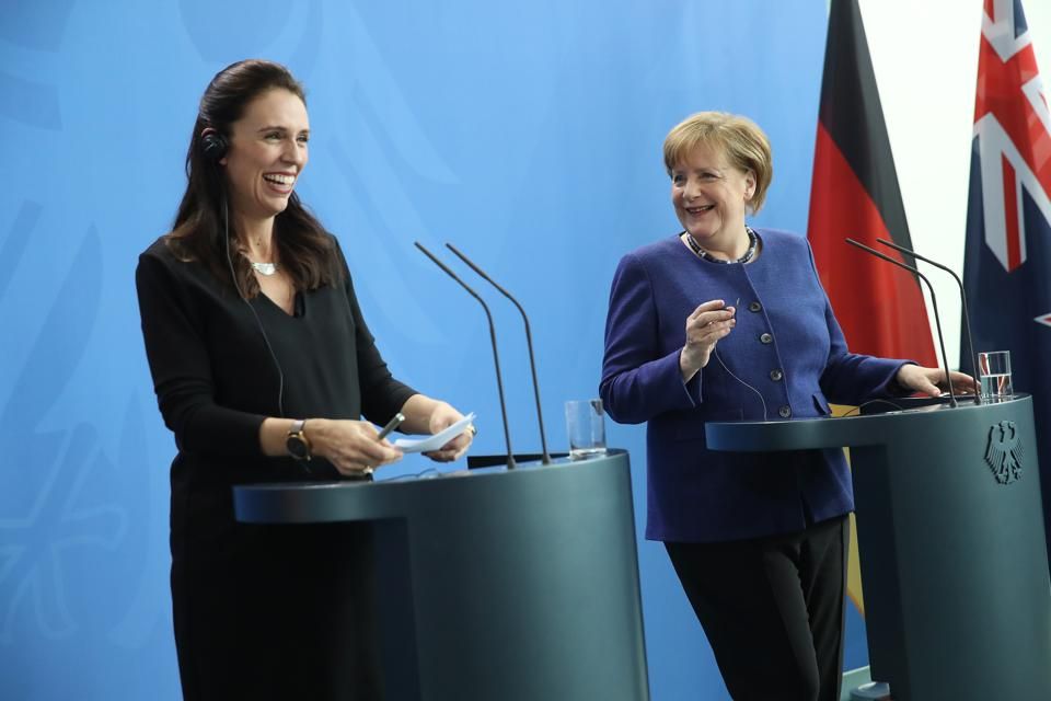 New Zealand Prime Minister Ardern Visits Berlin