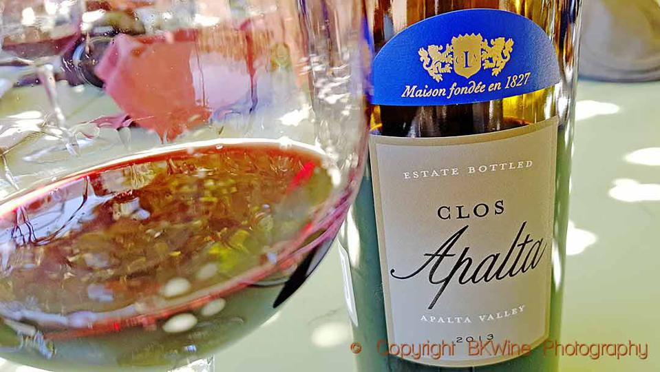 The Clos Apalta from Lapostolle Wines, Colchagua, Chile