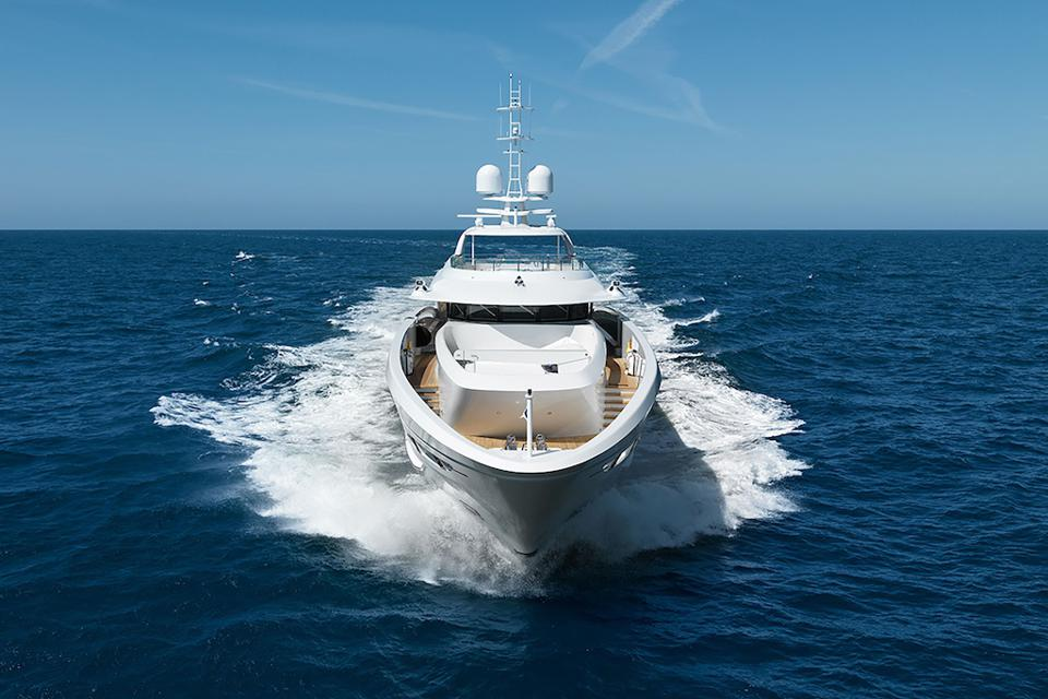 Denison Yachting is #1 in yacht sales over 80-feet-long for the second year in a row.