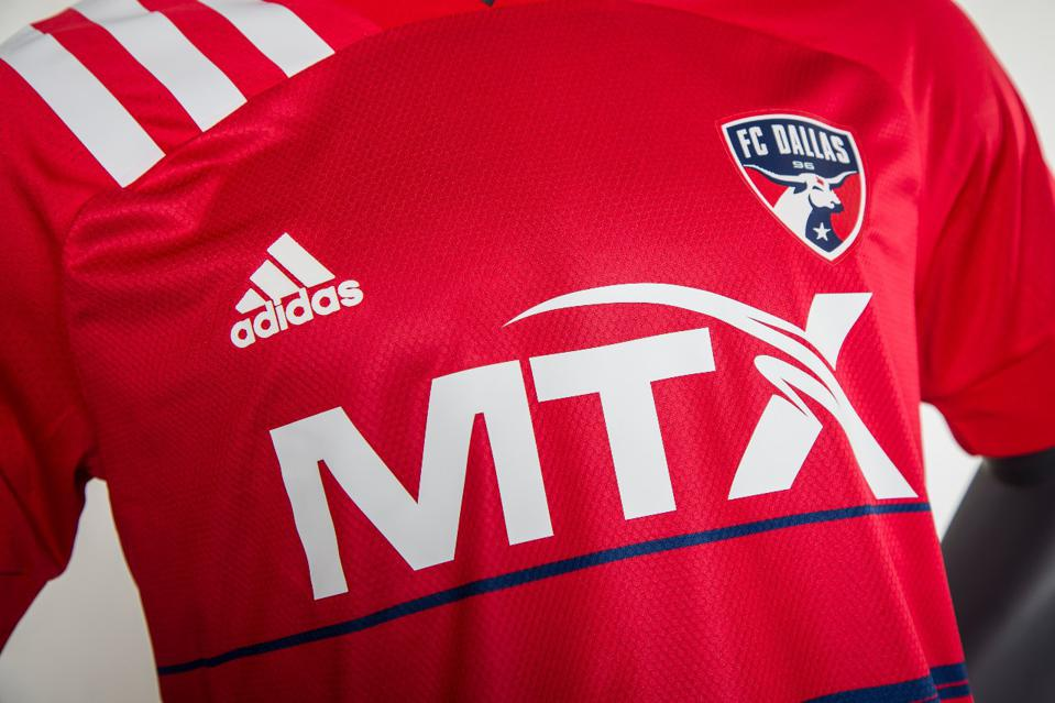FC Dallas jersey, MTX Group sponsor