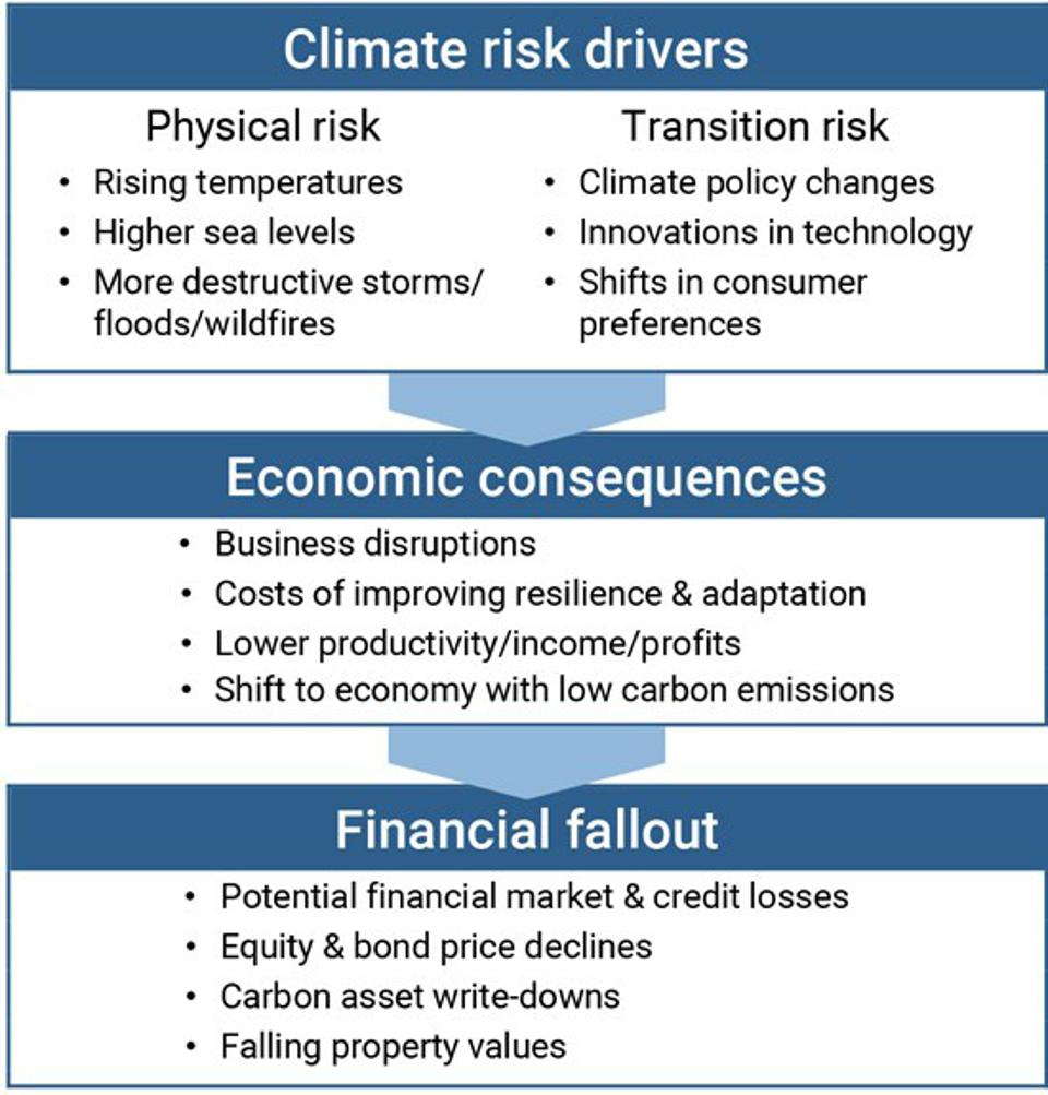 """""""Climate Change Is a Source of Financial Risk,"""" February 8, 2021."""