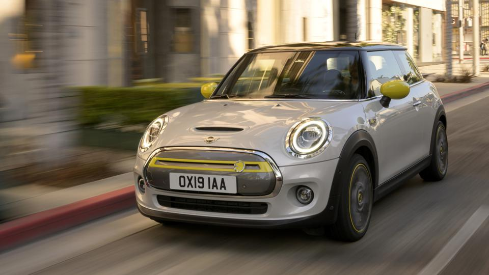 The MINI Cooper SE full-electric vehicle sits atop the list of the most environmentally friendly cars for 2021.
