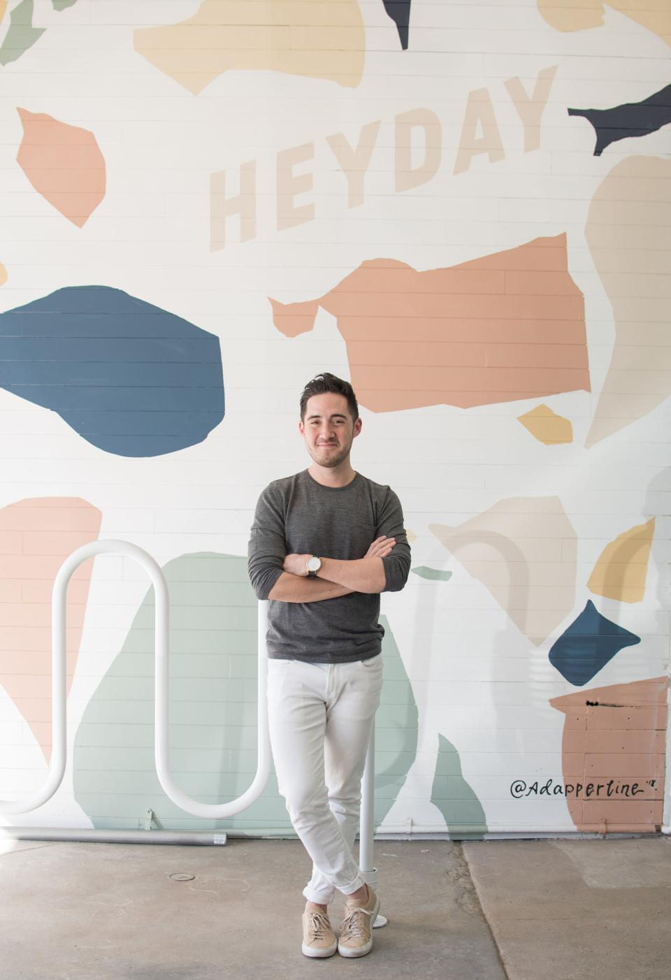 Michael Pollak is cofounder, and also holds the title of Chief Experience Officer at Heyday.