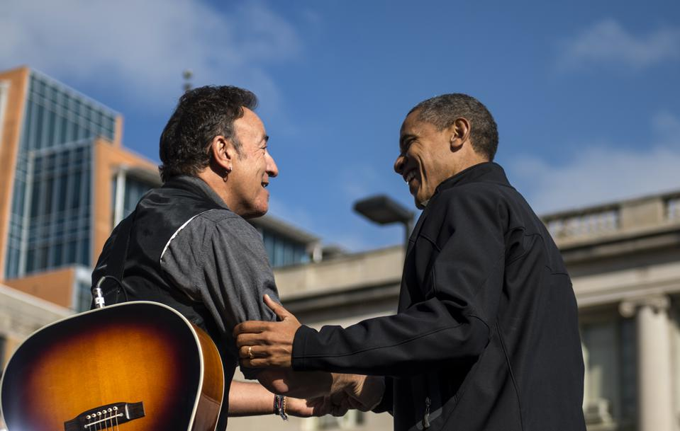 Bruce Springsteen, Barack Obama Launch A Podcast On Spotify