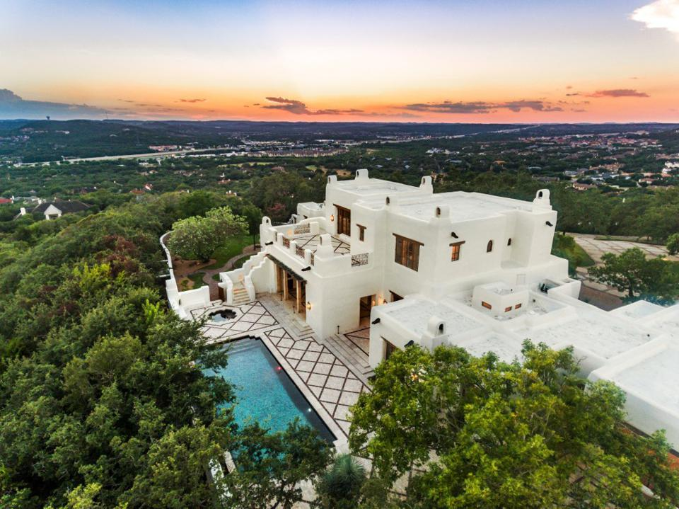 Sprawling mansion with pool