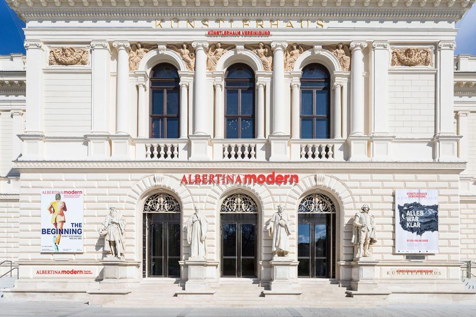 Vienna's new Albertina Modern.