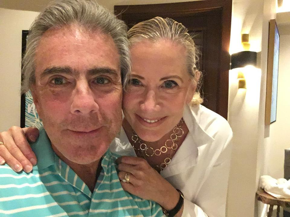 Debbi and Bill Kickham in Jamaica