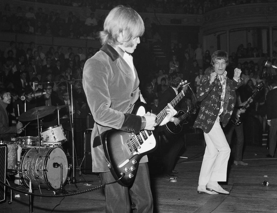 The Rolling Stones at Royal Albert Hall, their first UK tour in a year.