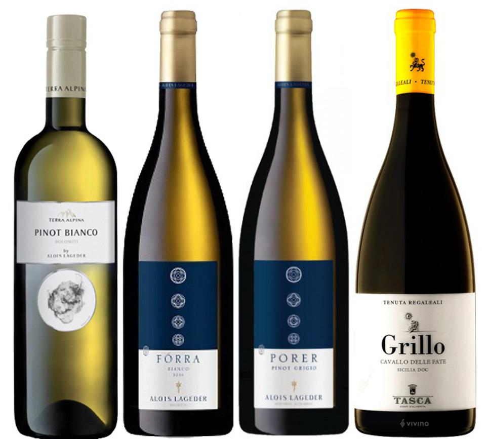 From north to south, Italian whites are on the winter table.