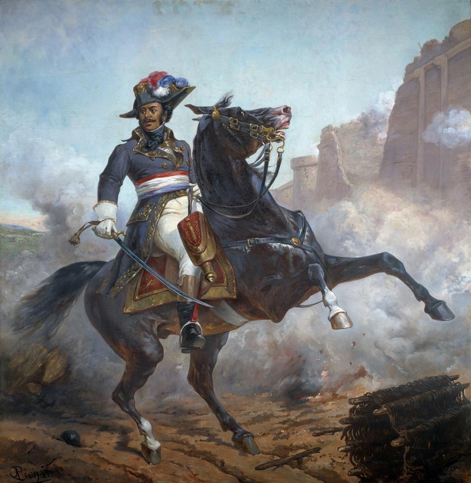 Portrait of General Dumas by Olivier Pichat