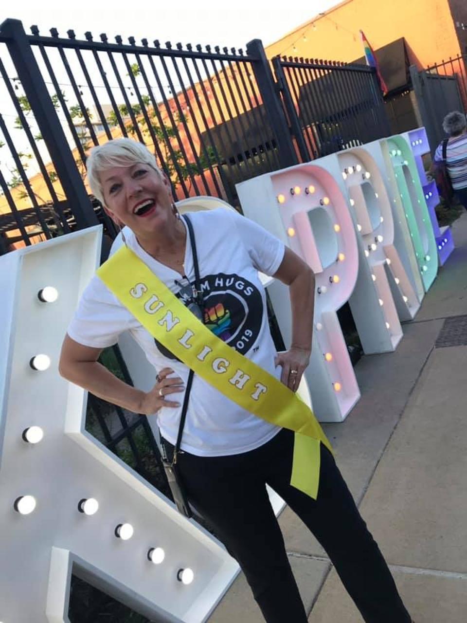 Free Mom Hugs founder, Sara Cunningham