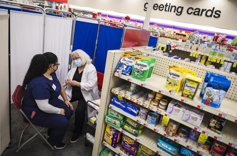 CVS Offers Vaccines To Eligible People