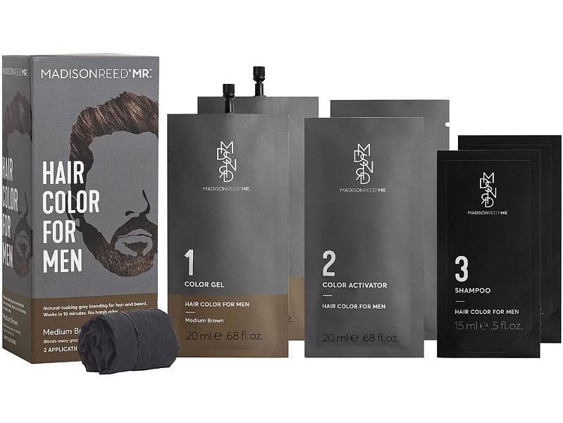 ″It has moved into the male hair coloring market with its new product line Madison Reed Mr. Hair Color for Men, recognizing growth potential,″ says McDougall.