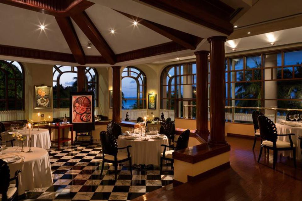 Enjoy a more formal meal at the Basilica