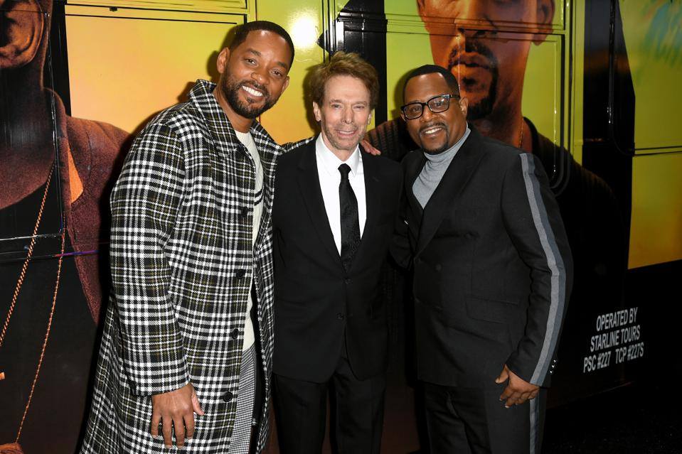 Will Smith, Jerry Bruckheimer, Martin Lawrence at ″Bad Boys For Life″ Red Carpet