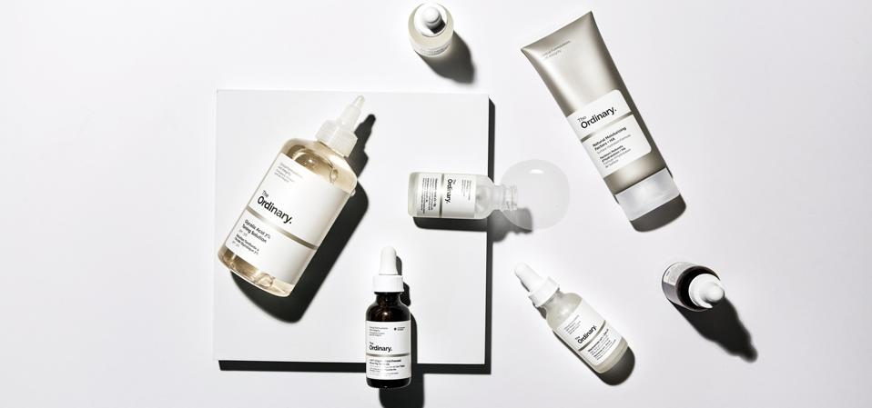 Cult beauty favorite The Ordinary.