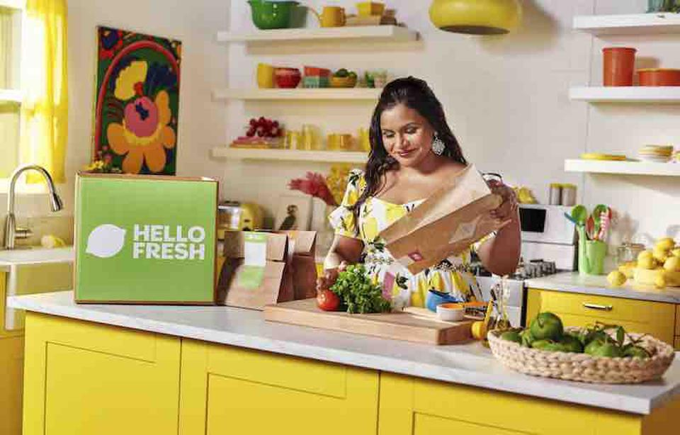 Mindy Kaling partnered with Hello Fresh on Meals with Mindy.
