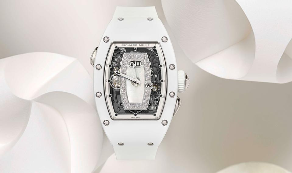 The Richard Mille RM 037, with an ATZ ceramic case.