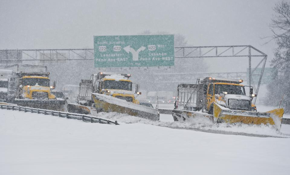 Snow Storm In Pennsylvania