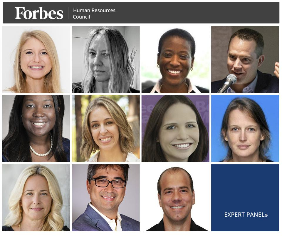 Photos of featured Forbes Finance Council members.
