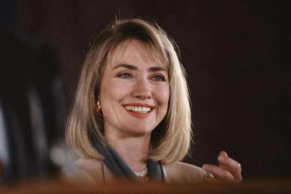 First Lady of Arkansas Hillary Clinton