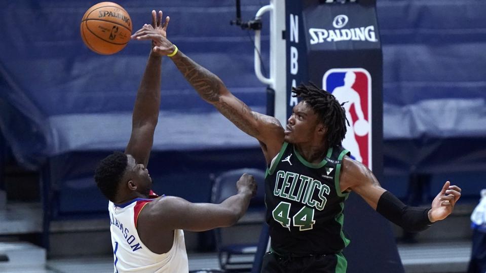 Celtics Pelicans Basketball
