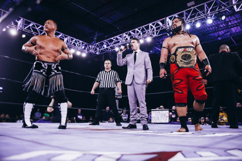MLW world heavyweight champion Jacob Fatu prepares to defend his title against CIMA.