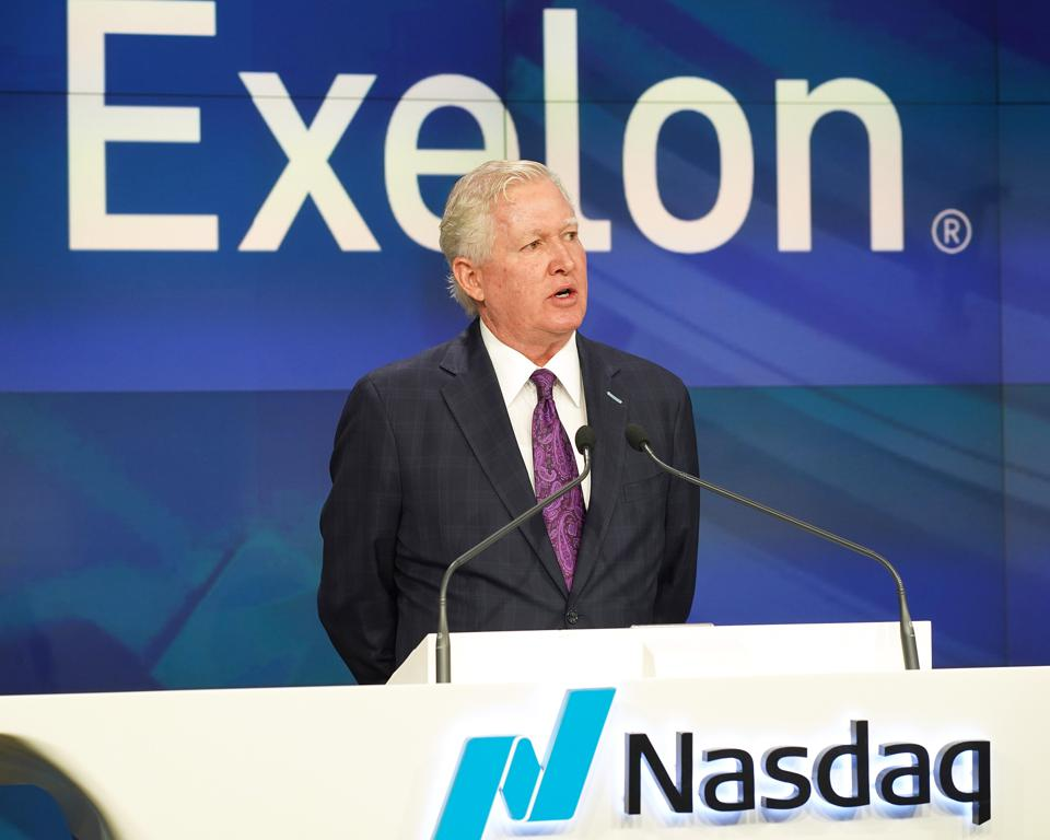 Exelon Corp. Rings Nasdaq Opening Bell
