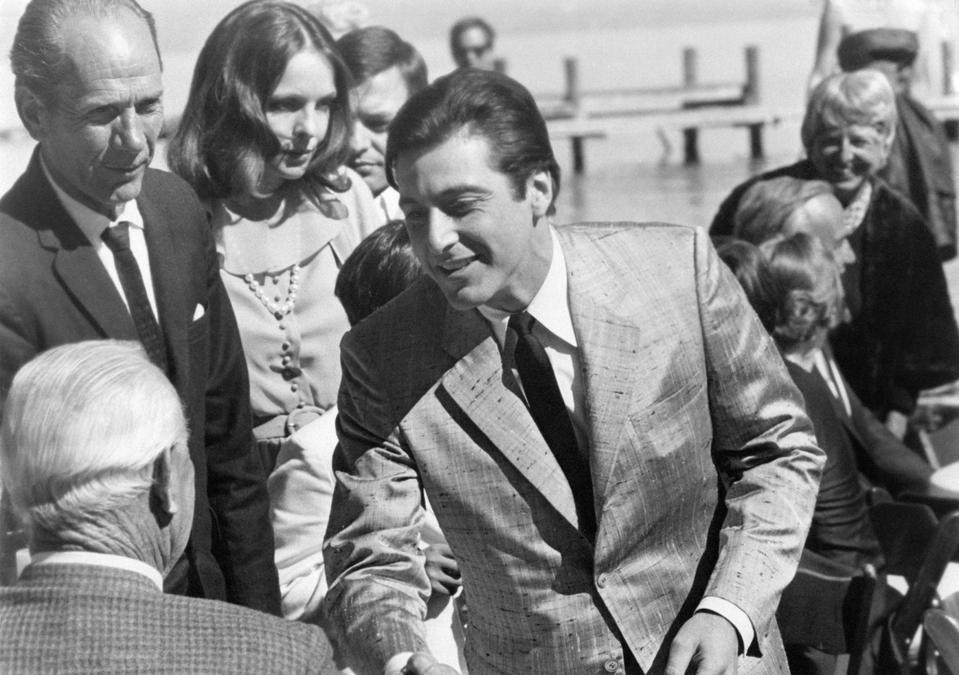 Al Pacino, protagonist of The Godfather, Part II