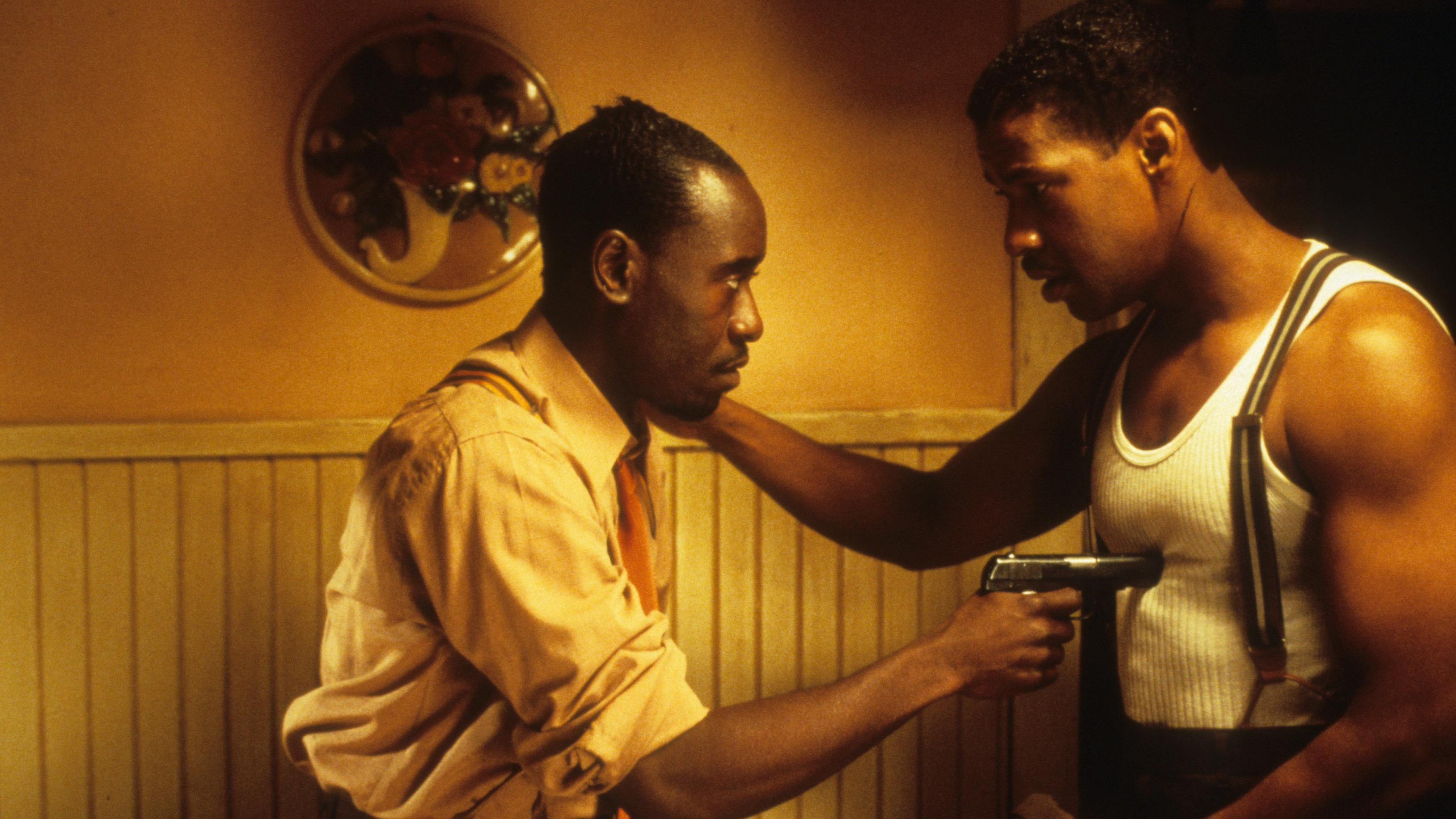 Don Cheadle And Denzel Washington In 'Devil in a Blue Dress'