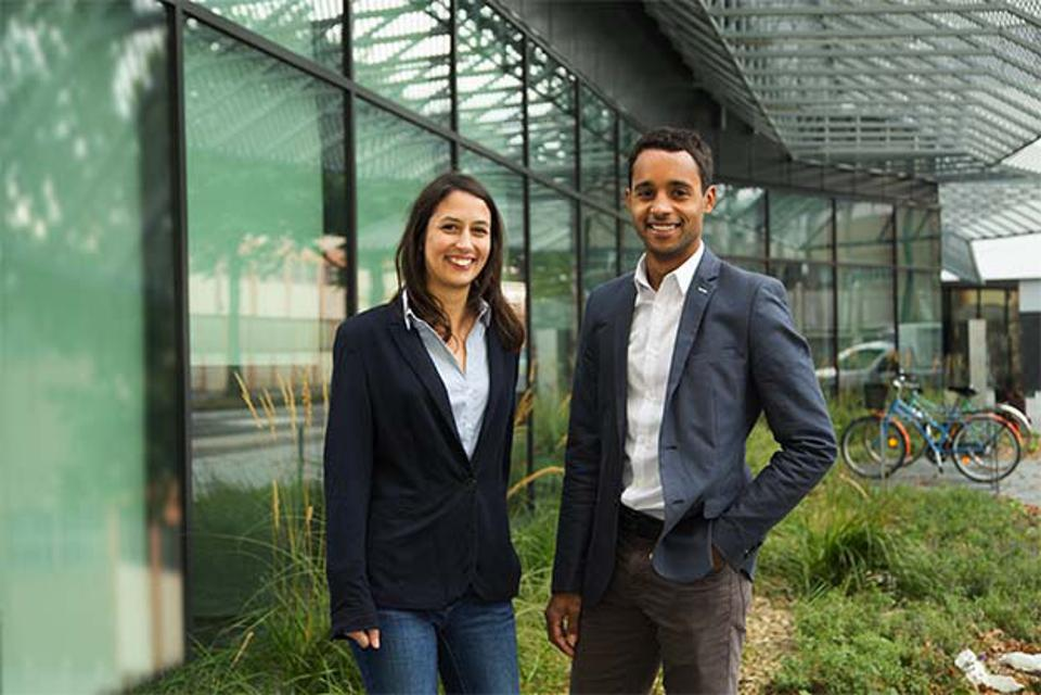 Susana Nunes and Jean-David Bar, the founders of We Do Good.