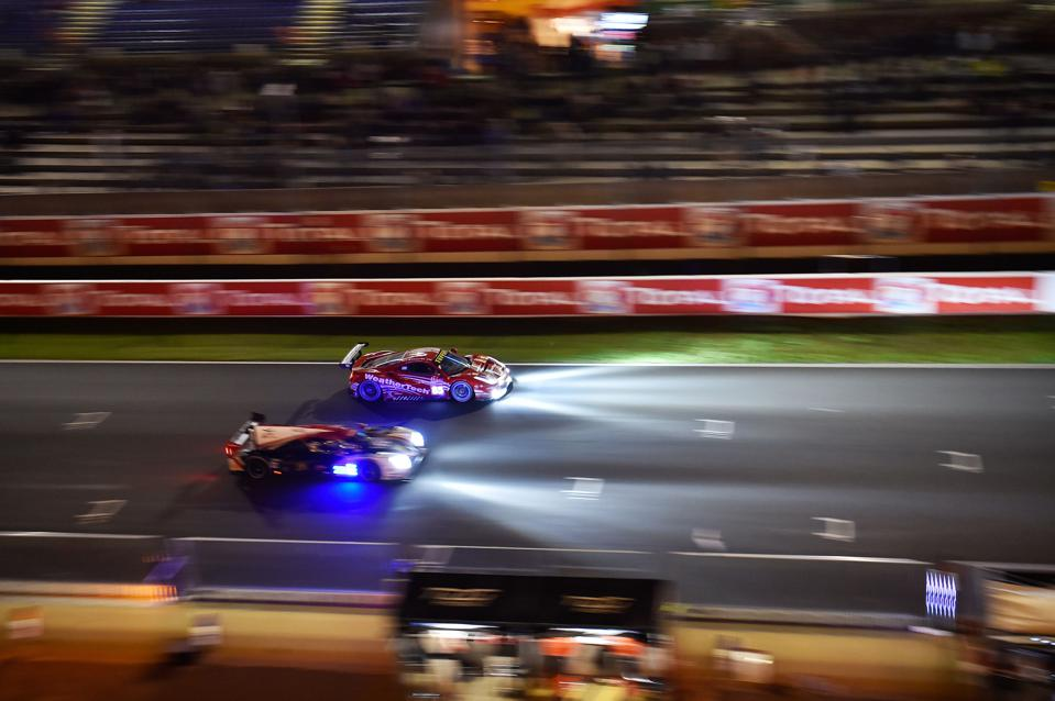 Ferrari has kept its hand in at Le Mans through the GTE class.