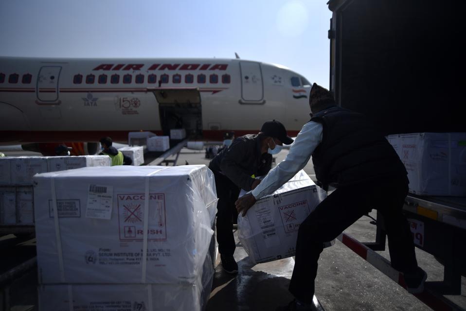Million Doses Of Purchased Covishield Vaccine Arrived In Kathmandu