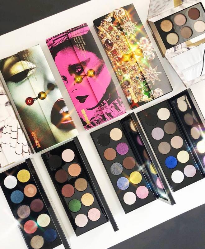Makeup palettes by Pat McGrath labs.