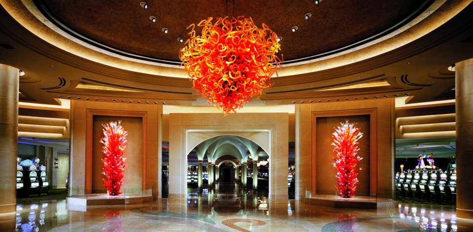 Borgata atlantic city Chihuly slot machines gambling casino