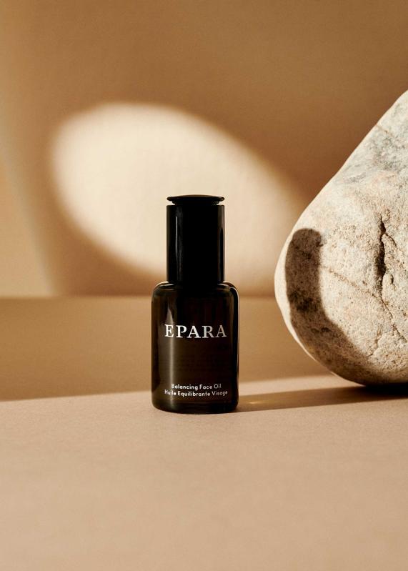 EPARA skincare bottle.