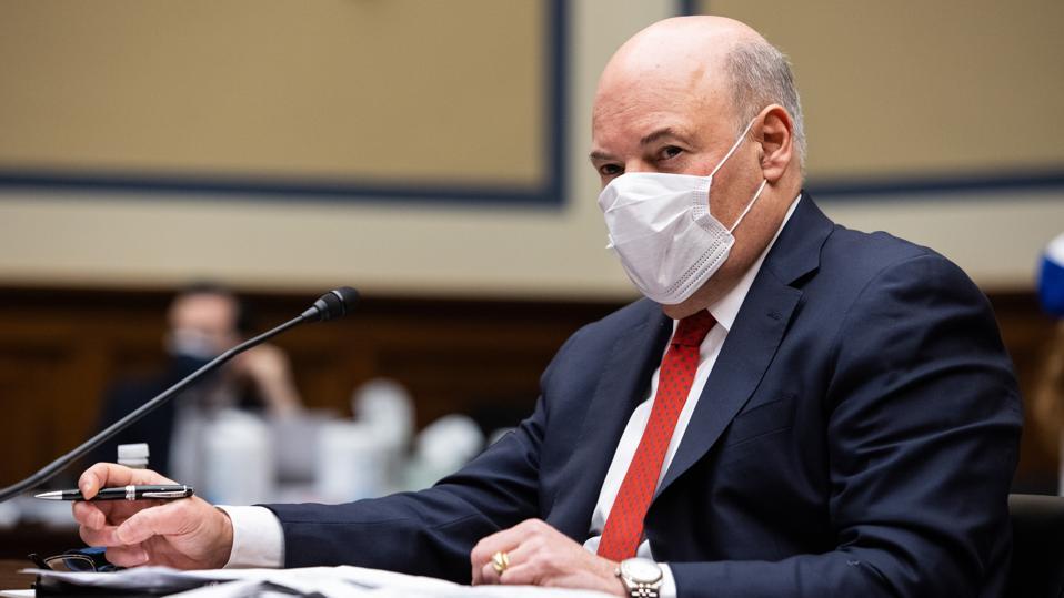 U.S. Postal Service Postmaster General Louis DeJoy at House hearing