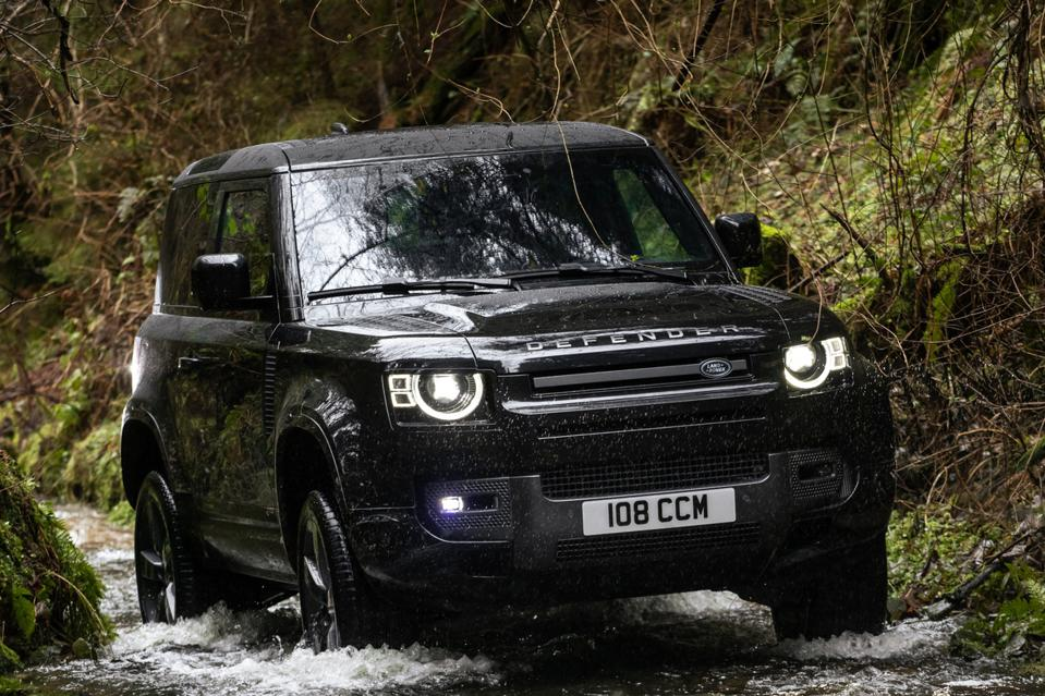 The Land Rover Defender V8 promises the potent engine lacking from the first round of models.