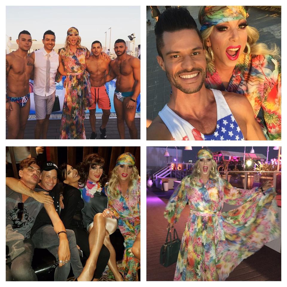 drag queen in Tel Aviv