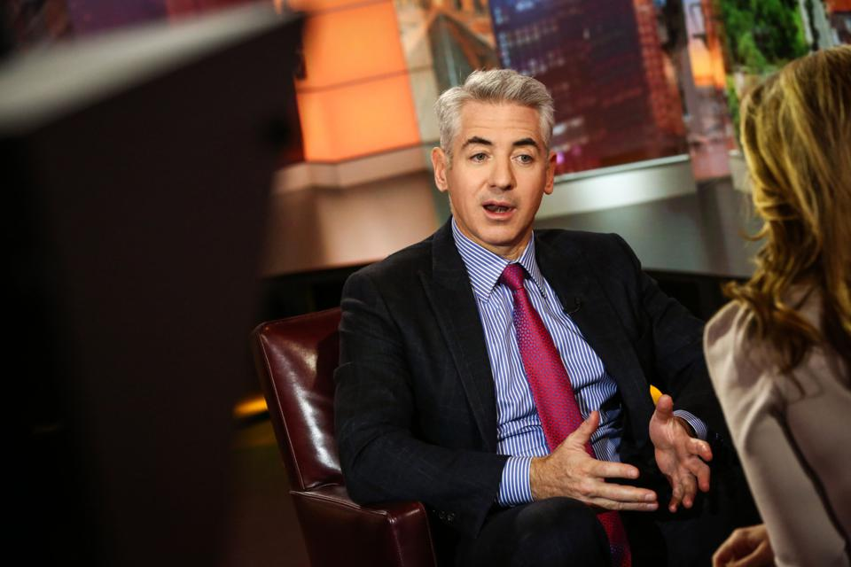 Pershing Square Capital Management LP Chief Executive Officer Bill Ackman Interview