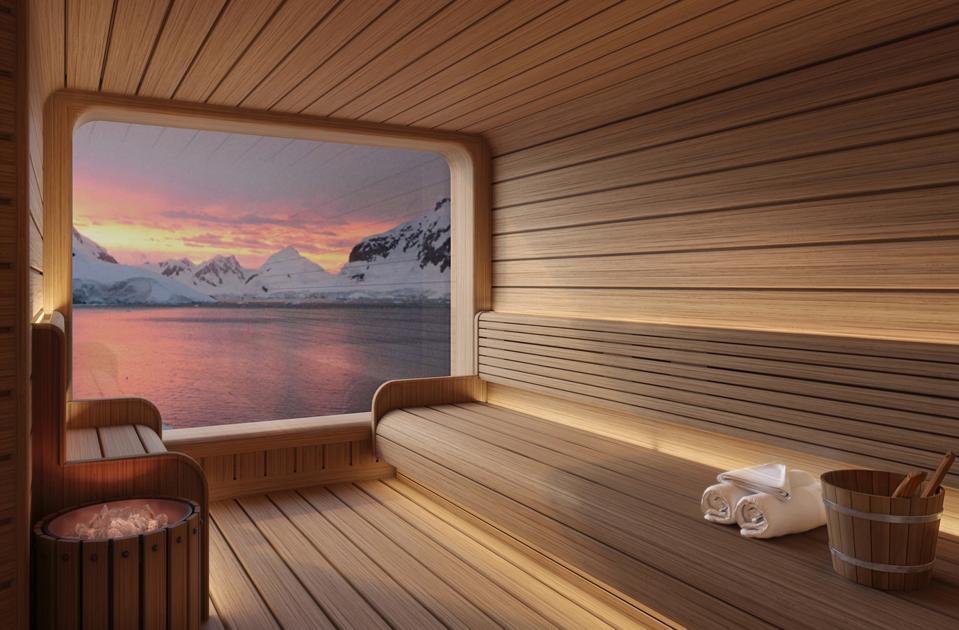 Seabourn Venture sauna