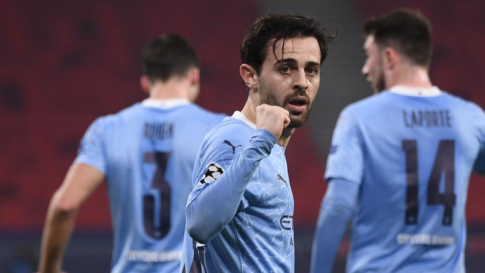 Man City Champions League Bernardo Silva